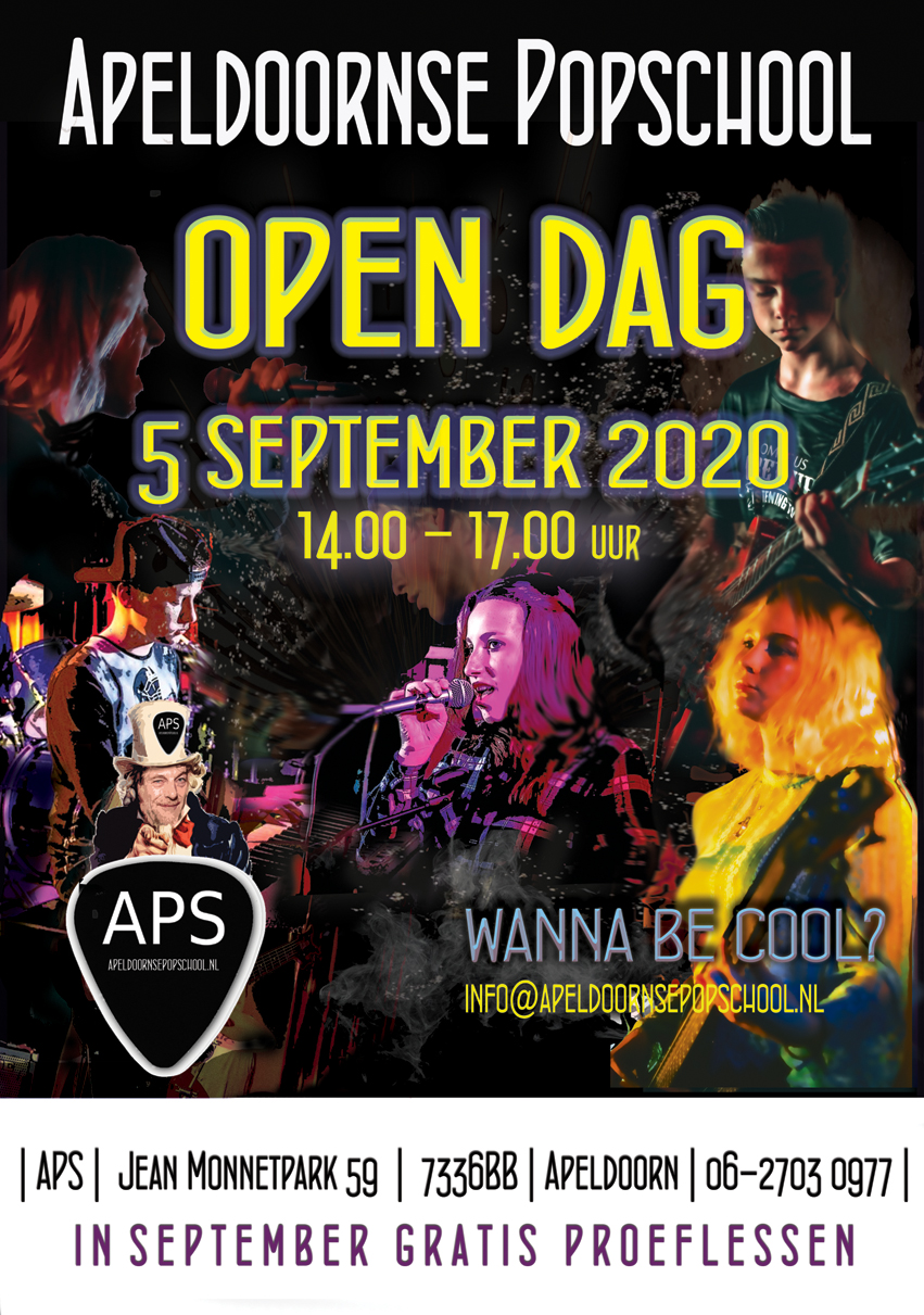 Poster Opendag 2020 small